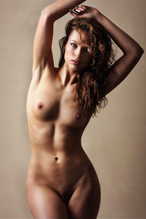 Naked red-head girl