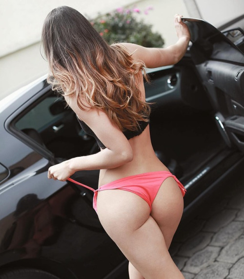 whore near the customer's vehicle